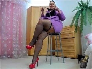 ebony bbw streaming video