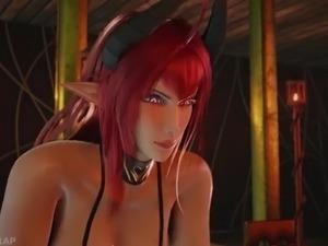 lesbians hentai big butts