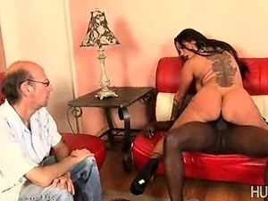 husband watched wife fuck