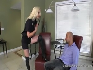 Probation Officer's Boot Bitch - Femdom Boot Fetish free