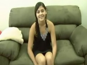 Very cute girl leah dizon sexy show in usa