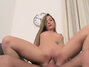 blonde milf anal audition