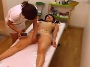 japanese boobs oil massage
