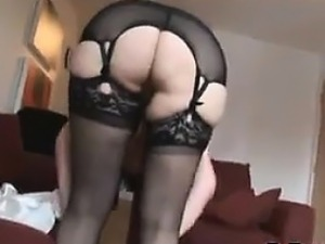 mature woman on girl watch video