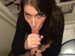 fuck wife in toilet