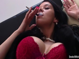 smoking mature boob full length video