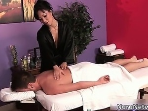 japanese massage oily suck fuck