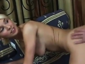 Tight Blonde Teen Gets Ass Stretched