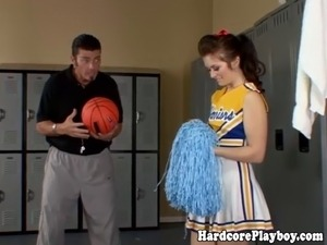 young cheerleader naked