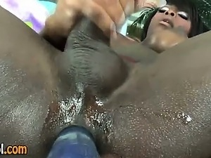 big tit ebony on white dicks