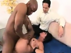 husband watches wife fuck their