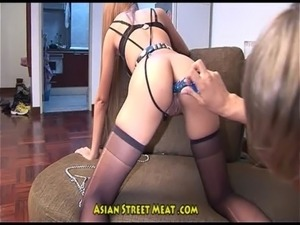 courtney asian anal