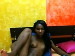 young black ebony teen