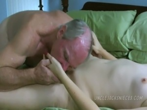 uncle creampies young girl