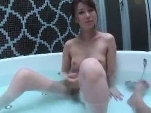 Teen showered in cum