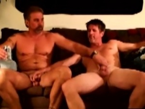 Straight amateur redneck touching dicks
