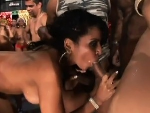 naked brazilian party