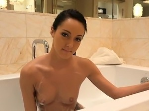 hot young girl in shower