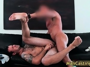 Nasty tattooed guy Johnny gets fucked part3