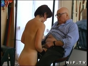 French redhead girl gangbanged and sodomized in a BDSM action free
