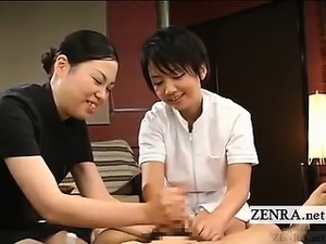 japanese xxx lesbian massage threesome