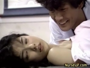 japanese nurse handjob uncensored