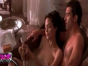 angelina jolie foxfire topless scene video