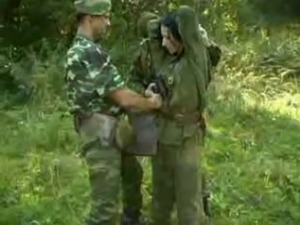 army orgy fuck video