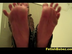 Get aroused and squirm in pain at the same time with this feet trampling...
