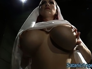 movie nun tits island