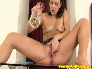 erotic pussy golden shower