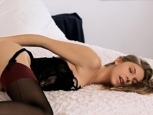 sex vids in white stockings
