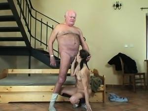 Old man sex porn
