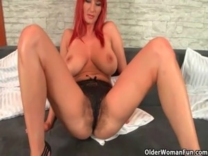 Mom's hairy pussy needs orgasmic relief free
