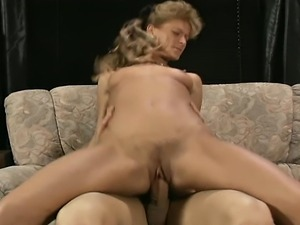 Natural blonde naked