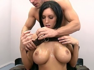 beautiful black tits and pussy