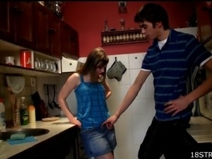kitchen sex mature