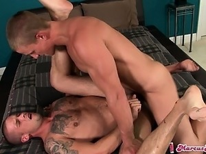 Caleb Colton gets his hot eager ass slammed by Marcus Mojo