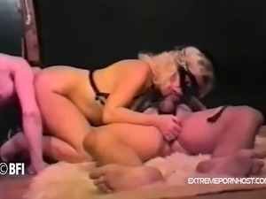 ass slapping and anal drilling