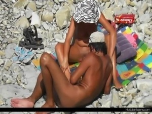 Nude Milf Tanning Naked at the beach free