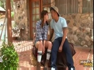 chinese teen interracial