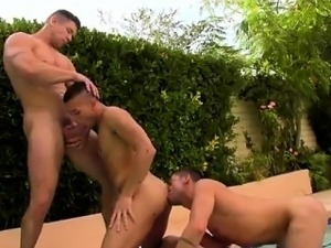 Group sex outdoors