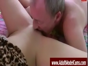 Old Man Fucks Young Hottie - AdultModelCams.com free