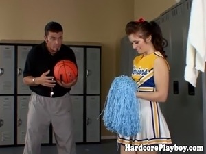 naked cheerleader videos