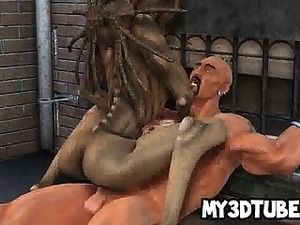moaning alien girls orgasm