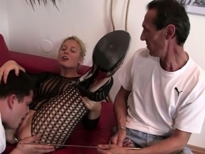 make husband suck black cock