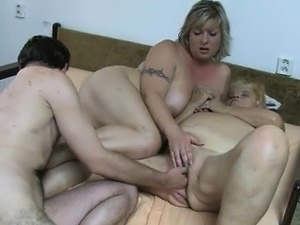 mature wife threesome