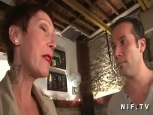 mature french lady having sex
