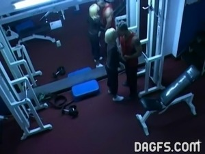 girls in gym naked