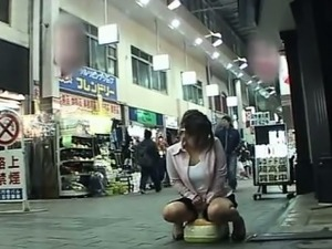 risky public japanese sex